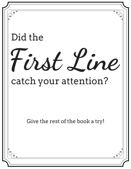 First line display